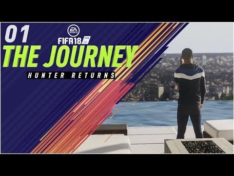 FIFA 18 The Journey Episode 1 - ALEX HUNTER RETURNS