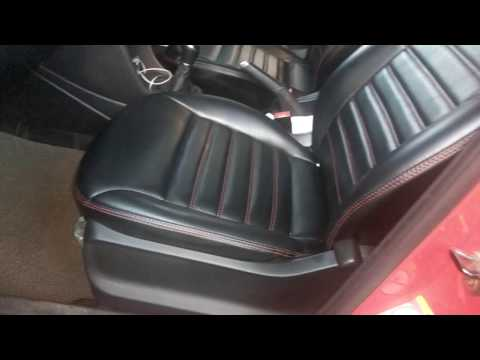 VW Polo Nappa Leather Car Seat Covers   Polo Interior Accessories