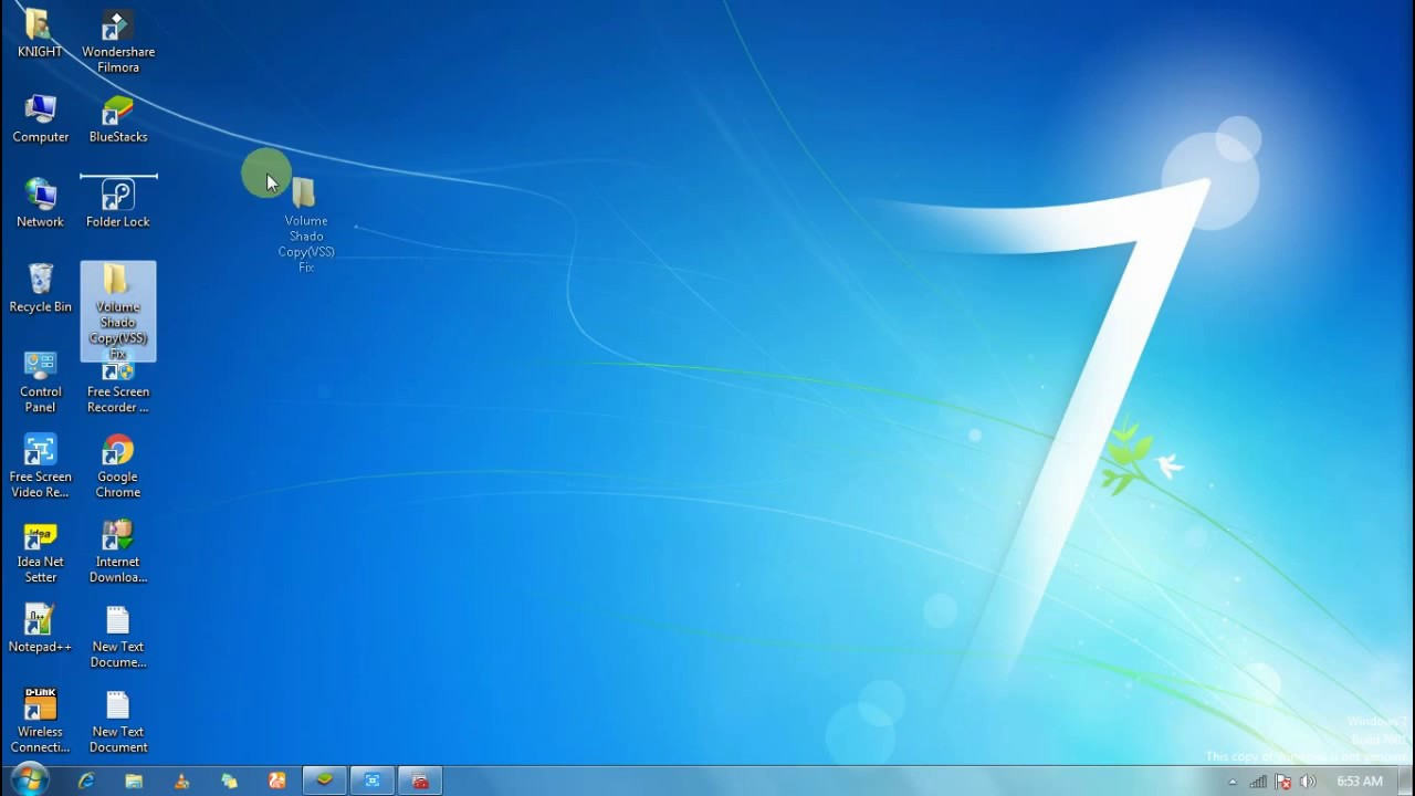 How To Fix Any System Restore Errors 100% (volume Shadow Copy Fails)
