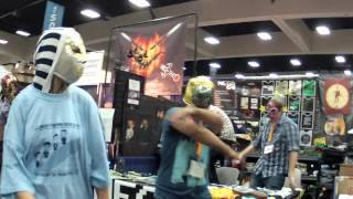 Rooster Teeth and Mega 64 Comic Con Reggae Dance