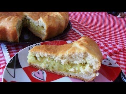 Пирог с картошкой и солеными грибами в духовке рецепт 20