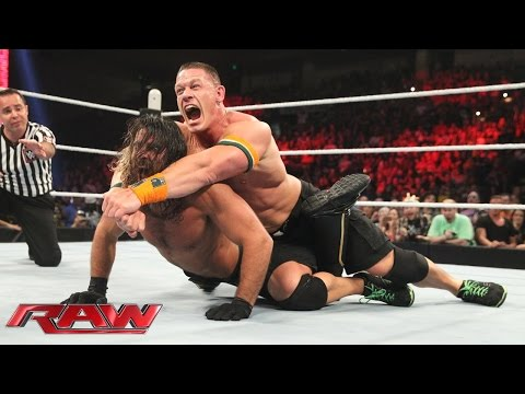 John Cena & Prime Time Players Vs. Seth Rollins & The New Day - Champions Vs. Challengers Match: Raw