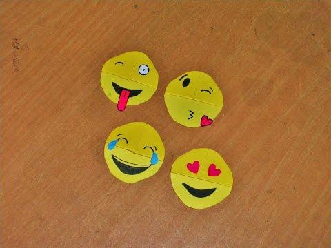 Easy Emoji DIY Bookmark Corners - Paper Crafts