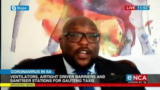 Gauteng taxis are getting upgraded with ventilators, ai