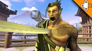 This is the WORST Hanzo Player on Earth! Overwatch Funny & Epic Moments 753