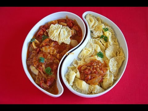 Cheese Ravioli & Satarash Recipe Recept – Sašina kuhinja