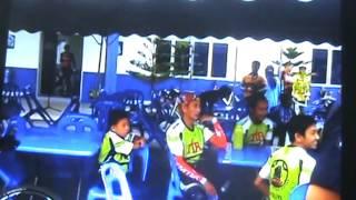 IPD Hilir Perak Police Cycle Ride -  Hutan Melintang April 2014