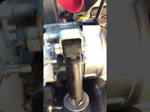 PIAGGIO MP3 REAR Hub OIL CHANGE