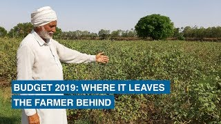 Budget 2019: Where it leaves the farmer behind