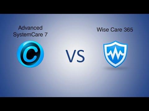Advanced SystemCare 7 Vs Wise Care 365