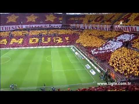 GALATASARAY vs. Beşiktaş Choreo 2015 Türk Telekom Arena Istanbul/Turkey