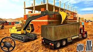 Construction Vehicles : Excavator, Dumper Truck - Android GamePlay