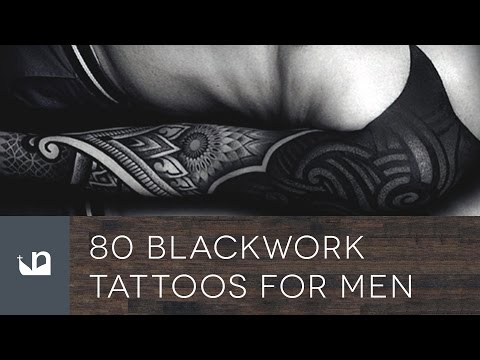80 Blackwork Tattoos For Men