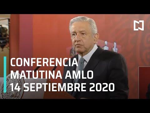 Conferencia matutina AMLO/ 14 de septiembre 2020