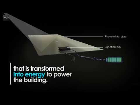 Onyx Solar A transparent glass that generates electricity