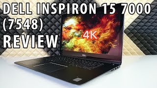 Dell Inspiron 15 7000 7548 Review - 15 quot 6 Laptop with a 4K IPS-Display