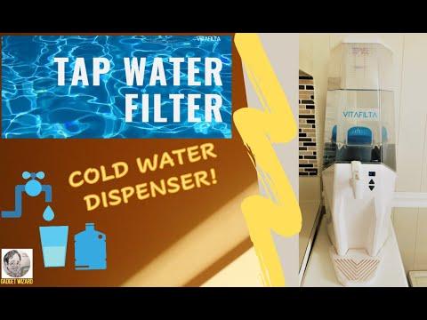 VITAFILTA Tap Water Filter - Adjustable temperature cold water dispenser with advanced filtration!