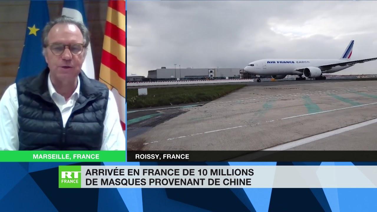 Muselier : «Sur le tarmac en Chine, une commande française a été achetée par les Américains cash»