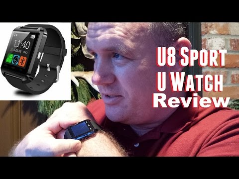 U8 Sport U Watch Unboxing, Review, and Usage from banggood.com