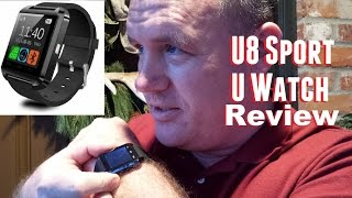 U8 Sport U Watch Unboxing, Review, and Usage from banggood.com thumbnail