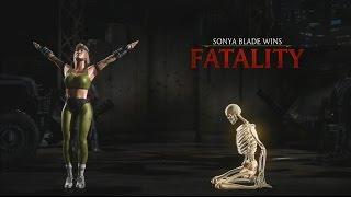 Mortal Kombat X: Sonya Blade - Klassic Fatality - Kiss of Death