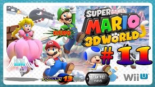 Super Mario 3D World GAMEPLAY a 4 Jugadores - Parte 11 - Mundo 6
