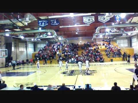 Etiwanda Vs  Rancho Cucamonga High School Basketball 1/22/2016