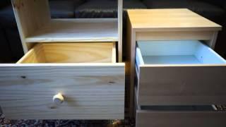 ikea tarva nightstand versus kullen chest
