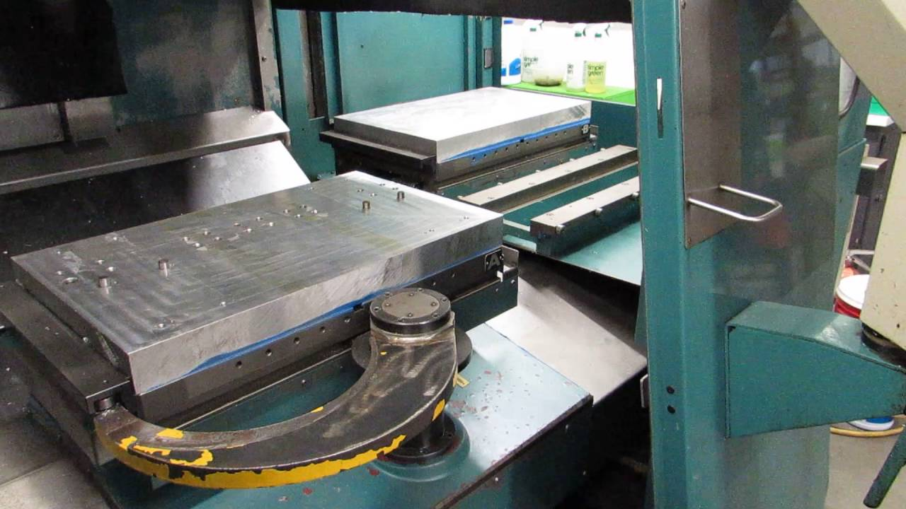 machining center pallet. matsuura ra-iif cnc vertical machining center with pallet changer