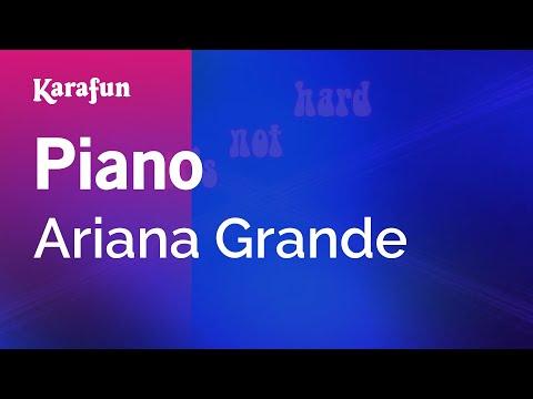 Karaoke Piano - Ariana Grande *