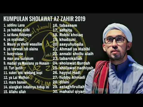 full-album-sholawat-az-zahir-terbaru-2019