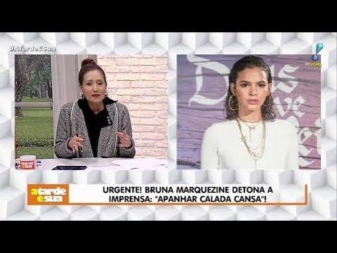 """Sonia Abrão Detona Bruna Marquezine Após Desabafo: """"Vá Trabalhar Direito"""""""