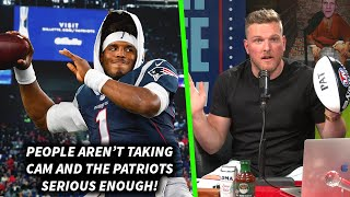 """Pat Mcafee """"people Aren't Taking The Cam Newton Patriots Deal Seriously Enough"""""""