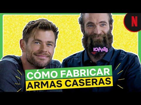 Chris Hemsworth te enseña a usar objetos caseros como armas | Misión de rescate