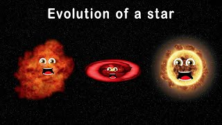 Stars for Kids/Stellar Evolution for Kids/Evolution of a Star