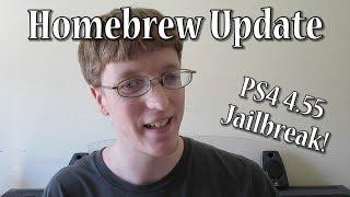 PS4 4.55 JAILBREAK and Homebrew Launcher V2! - Homebrew Update Week of 02.25.18
