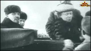 1 мая 1918. Москва. Первый парад РККА.