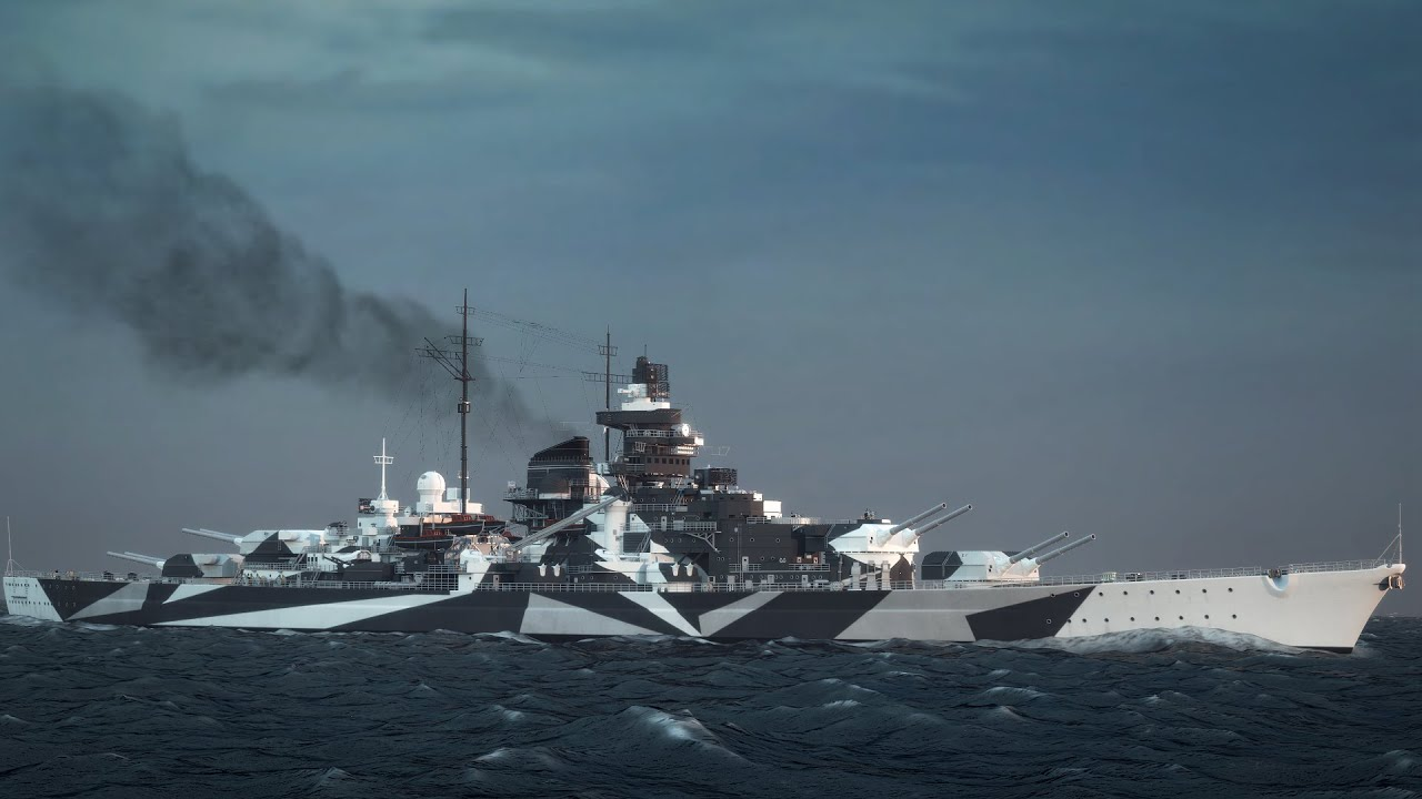 warships achtung tirpitz youtube