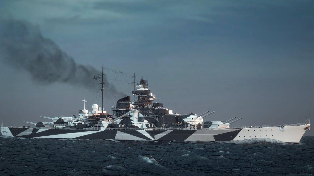 Aviation 3d Live Wallpaper Warships Achtung Tirpitz Youtube
