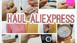 MEGA HAUL Aliexpress | Ropa, complementos, maquillaje... ¡no te lo pierdas!