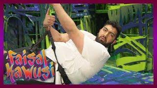 Höhenangst! Hartes Training für das Tarzan-Musical - Faisal Kawusi Show