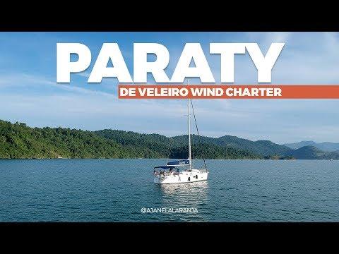 Veleiro em Paraty, um final de semana no mar