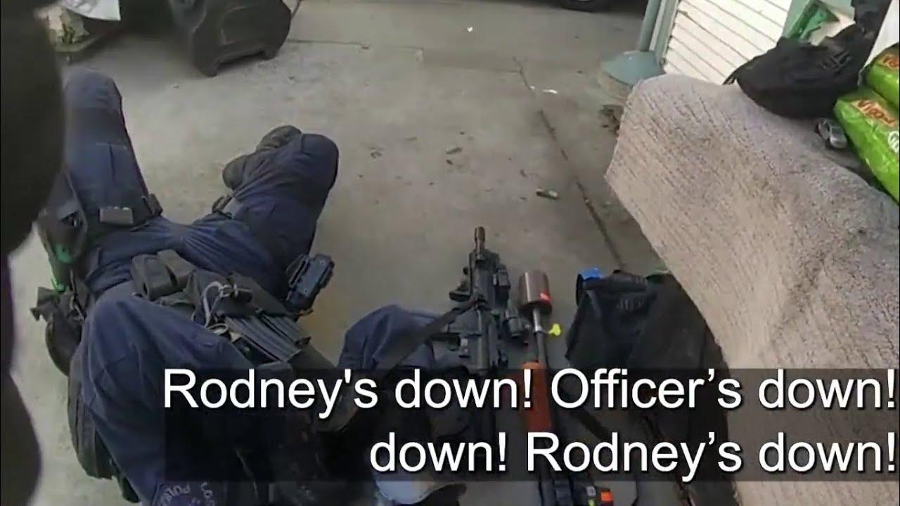 Download SWAT Bodycam: LAPD Officer Gets Shot, Takes Down Gunman w/ Stolen Shotgun & Ghost Pistol