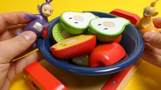 Teletubbies Make Fruit Salad - Wooden Toys