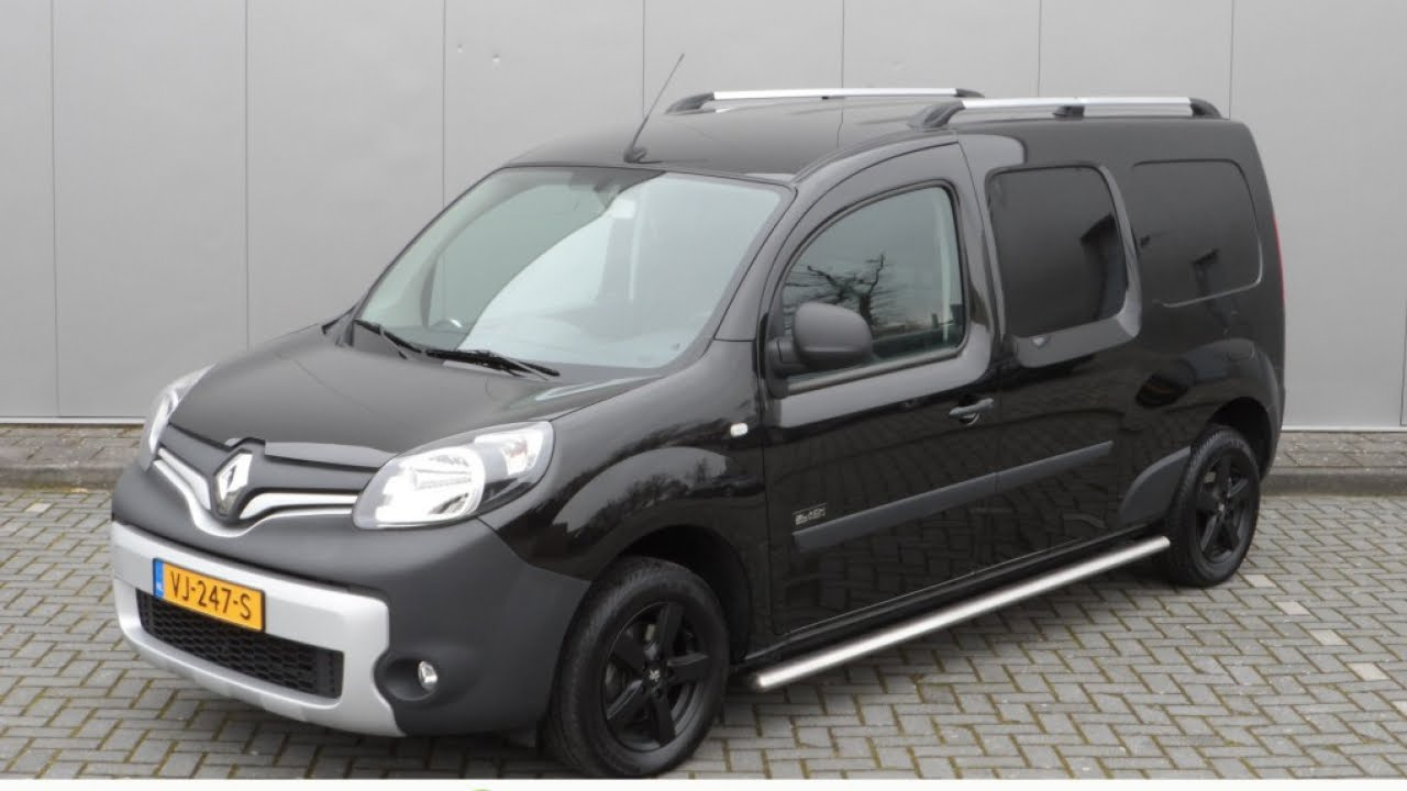 renault kangoo express 1 5 dci 110 express maxi black edition s s youtube. Black Bedroom Furniture Sets. Home Design Ideas