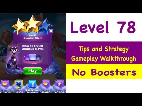 Bejeweled Stars Level 78 Tips and Strategy Gameplay Walkthrough No Boosters