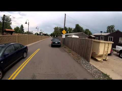 Cyclist Vs Car Colorado Plate 479-KQU
