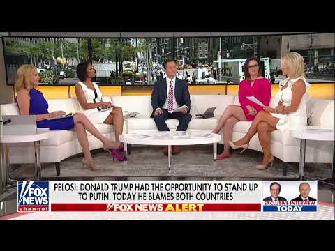 'What Do the Russians Have on Trump?': Pelosi, Dems Criticize POTUS After Putin Summit