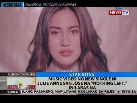 """BT: Music video ng new single ni Julie Anne San Jose na """"Nothing Left,"""" inilabas na"""