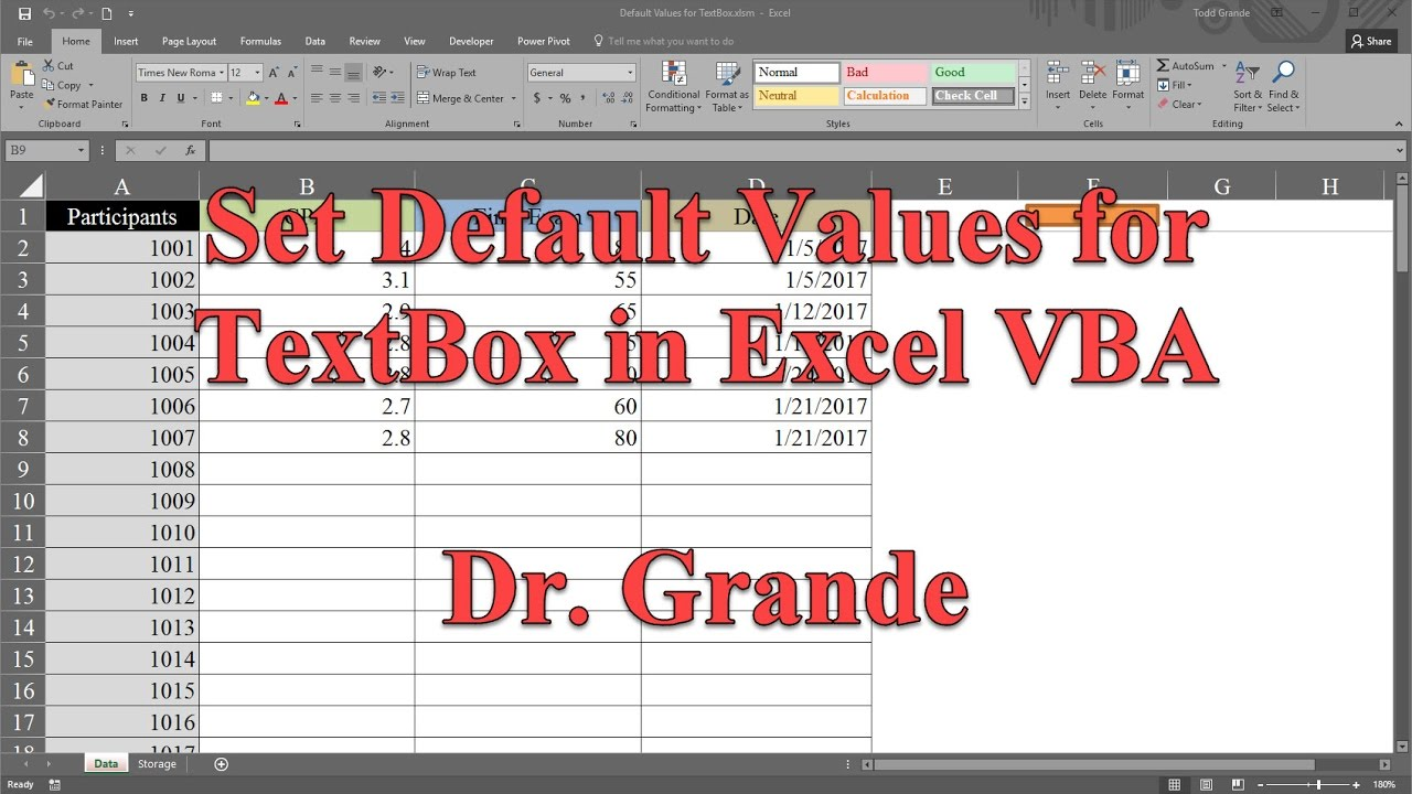 excel vba textfeld text 228ndern textbox events to run